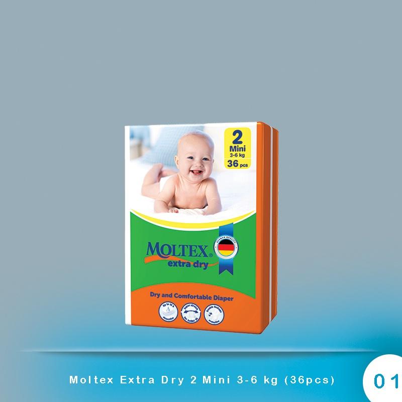 Moltex Extra Dry 2 Mini 3-6 kg (36pcs)