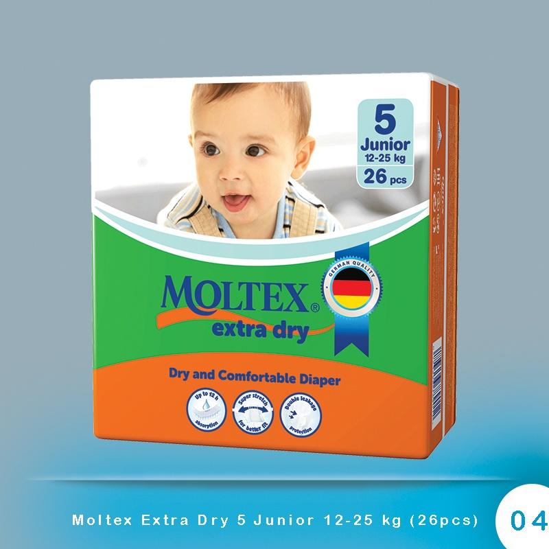 Moltex Extra Dry 5 Junior 12-25 kg (26pcs)