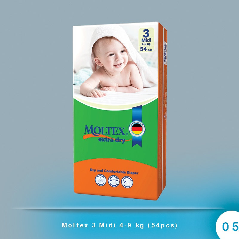 Moltex 3 Midi 4-9 kg (54pcs)