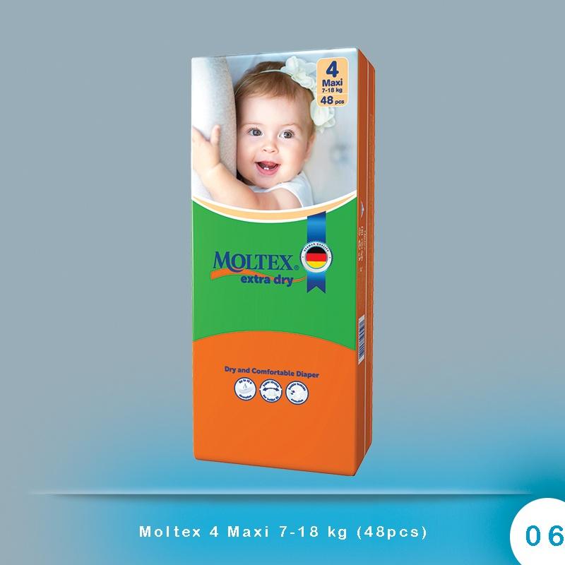 Moltex 4 Maxi 7-18 kg (48pcs)