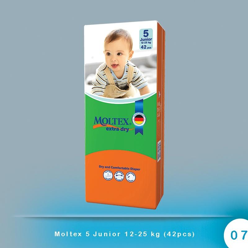 Moltex 5 Junior 12-25 kg (42pcs)