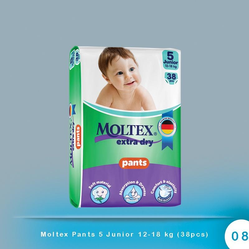 Moltex Pants 5 Junior 12-18 kg (38pcs)