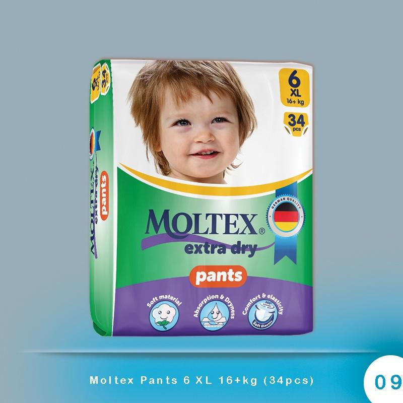 Moltex Pants 6 XL 16+kg (34pcs)